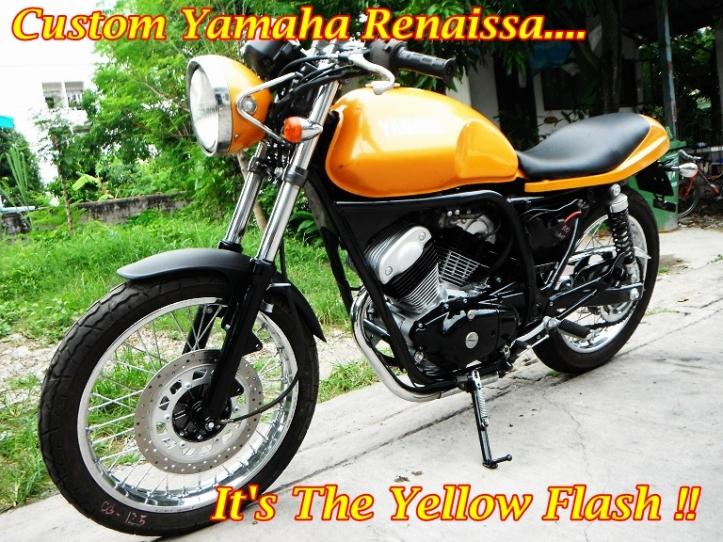 Yamaha SRV 250 Custom Main