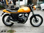 Yamaha SRV 250 Custom Yellow