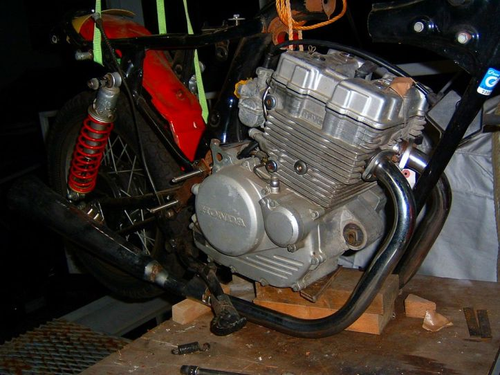 CBX125 Engine