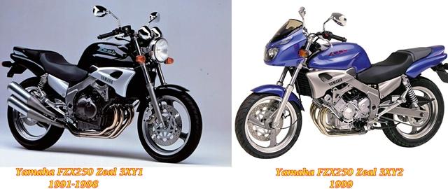 FZX250 Zeal Generations