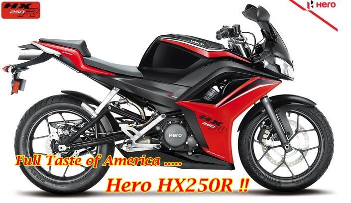 Hero HX250R Main
