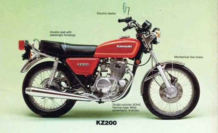 Kawasaki KZ200 Binter Merzy 2