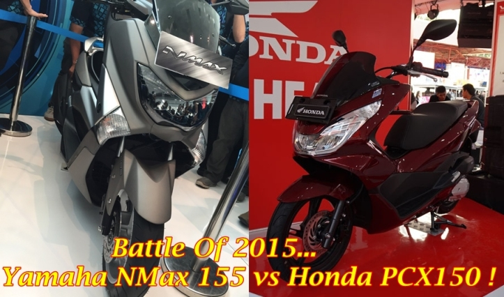 PCX vs NMax 155