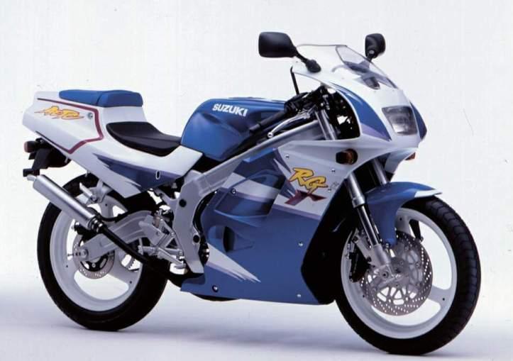 Suzuki RG125 Gamma 4