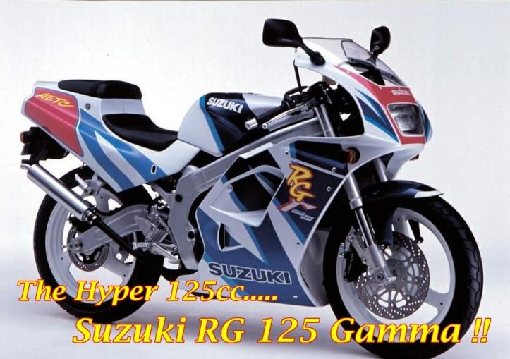 Suzuki RG125 Gamma Main