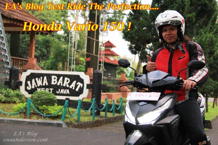 Test Ride Vario 150 Main