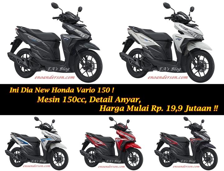 New Honda Vario 150 Resmi Dirilis… Mesin Baru, Detail Mantap !! | EA ...