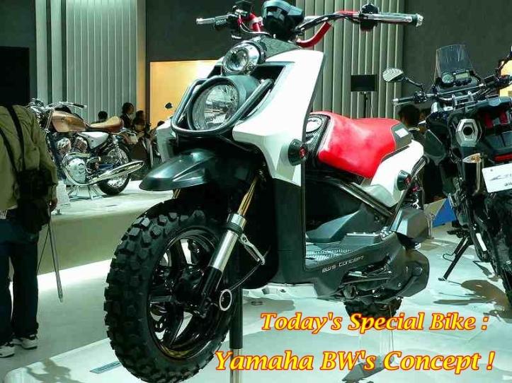 Yamaha BW's Concept 2007 Main