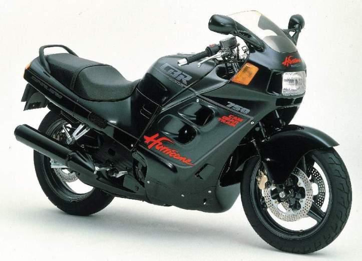 Honda CBR 750 Hurricane 11