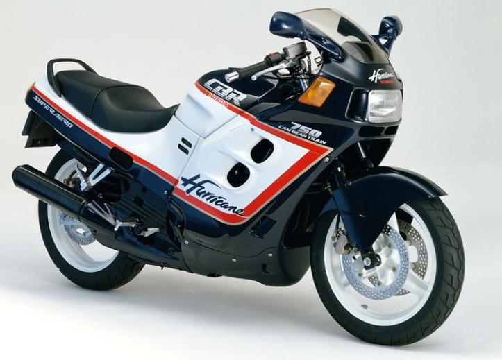 Honda CBR 750 Hurricane 12