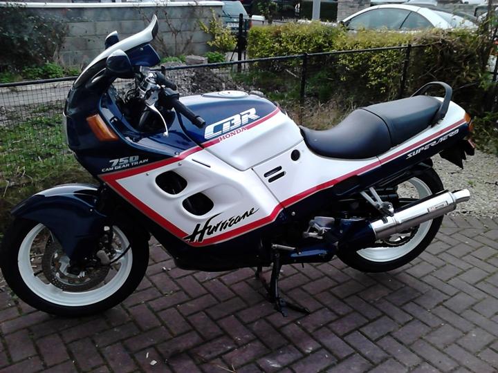 Honda CBR 750 Hurricane 7