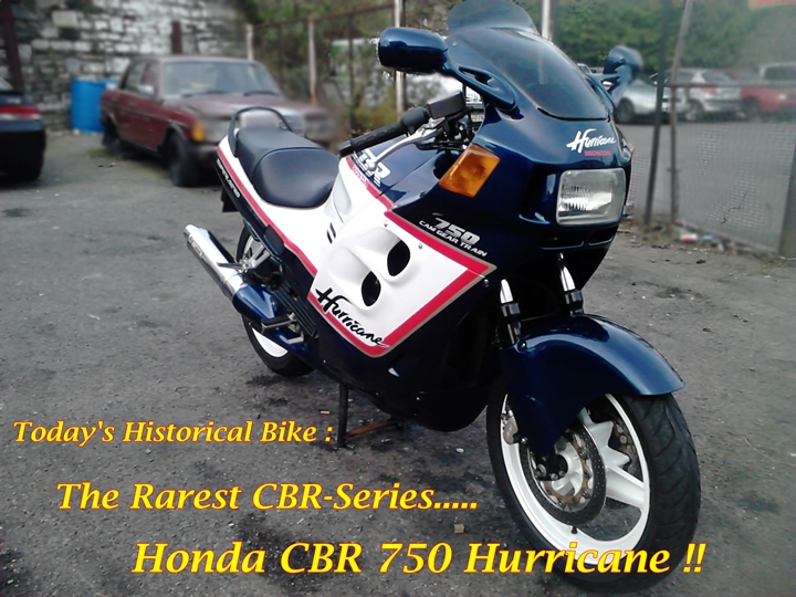 Honda CBR 750 Hurricane 8