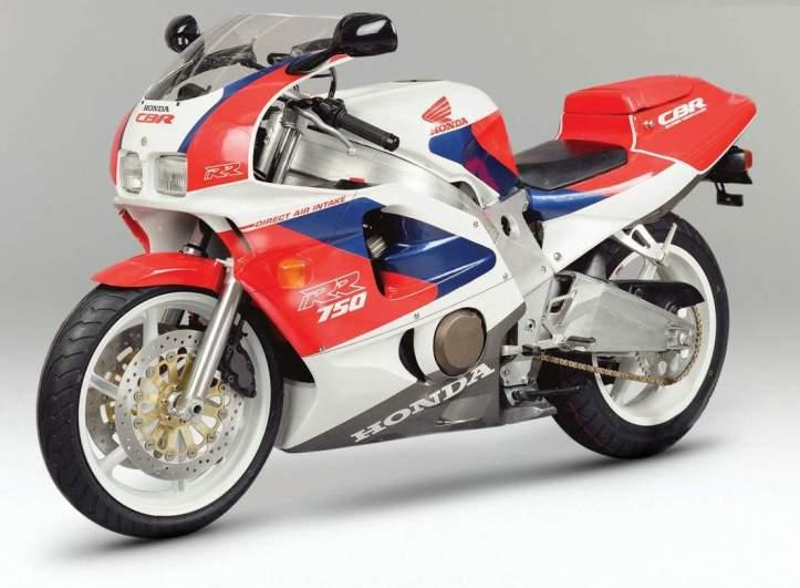 Honda CBR 750RR Fireblade Prototype