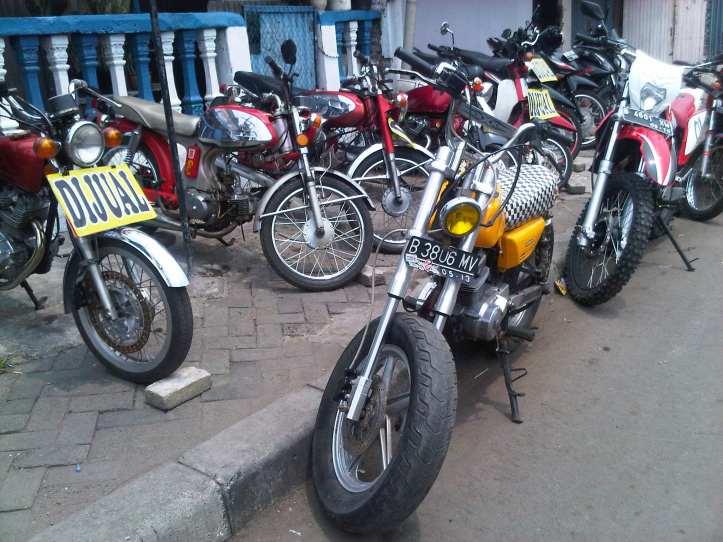 Jual Motor Antik