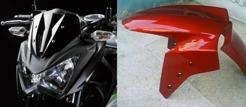 Spakbor Ninja & Headlamp Z250