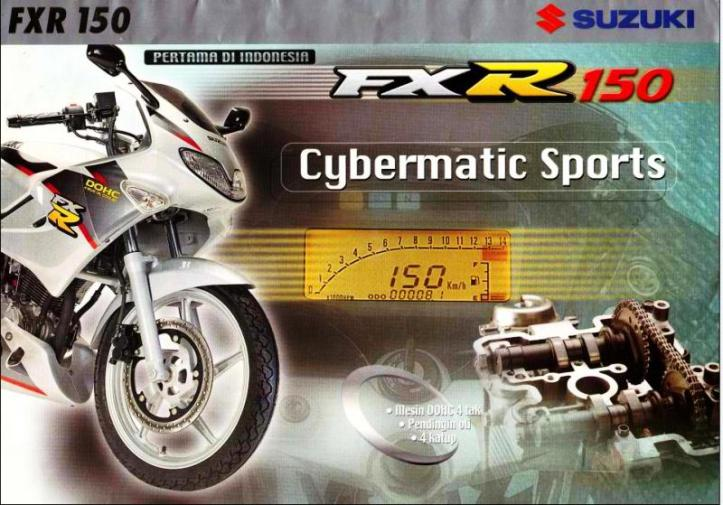 Suzuki FXR 150 13