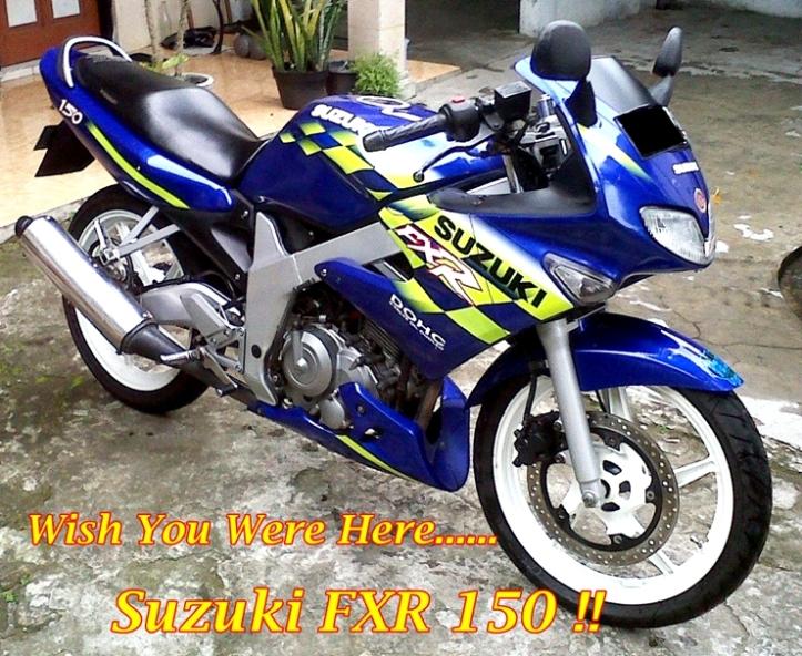 Suzuki FXR 150 Main
