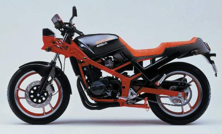 Suzuki GSX400X Impulse 2