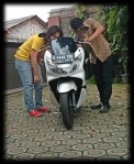 Test New PCX 150 3