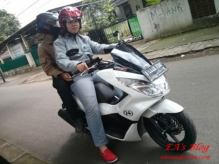 Test New PCX 150 6