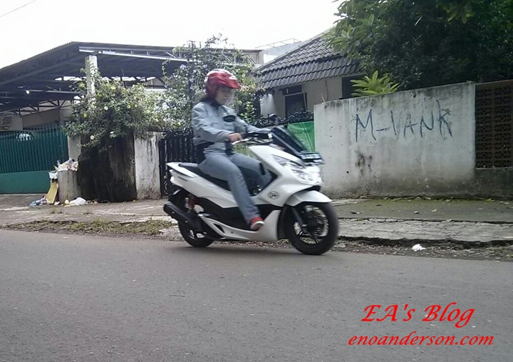 Test New PCX 150 7