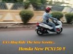 Test New PCX 150 Main