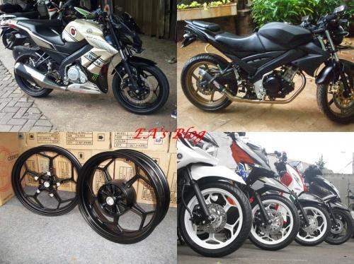 Velg Z250 & Ninja 250