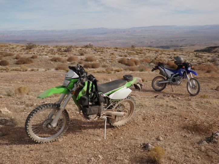 Yamaha WR250R vs KLX250