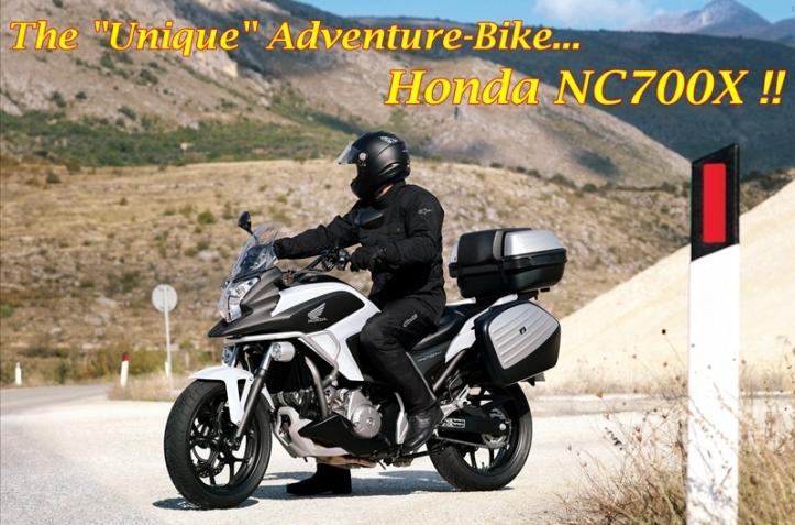 Honda NC700X Main
