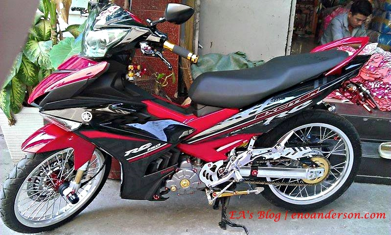 Modifikasi Jupiter mx King Jupiter mx King 150 Modifikasi