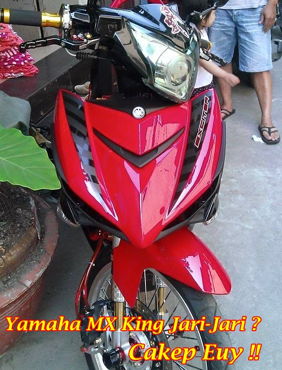 Jupiter MX King 150 Modifikasi main
