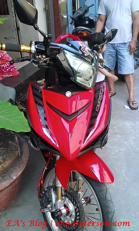 Jupiter MX King 150 Modifikasi