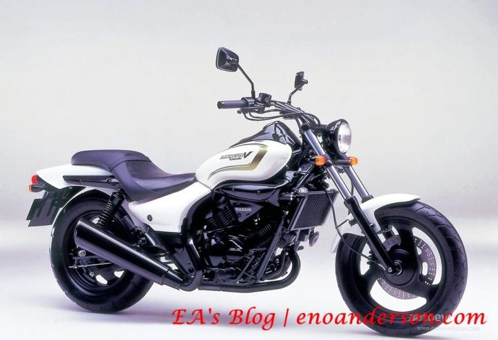 Kawasaki V Twin 250cc 4