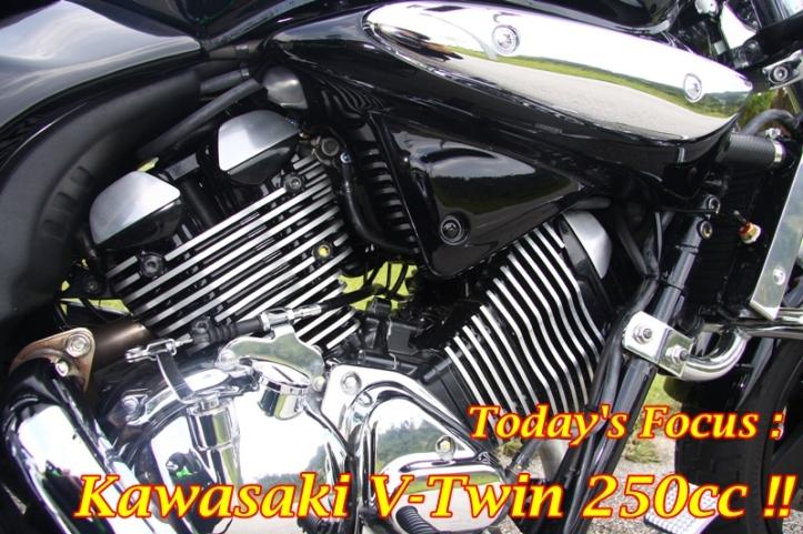 Kawasaki V Twin 250cc