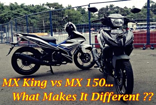 MX King 150 & Jupiter MX 150 Main