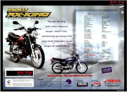 """Ini Dia Filosofi """"King"""" di Yamaha MX King 150 !   EA's Blog ..."""