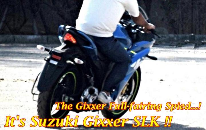 Suzuki Gixxer SLK Full-Fairing Main