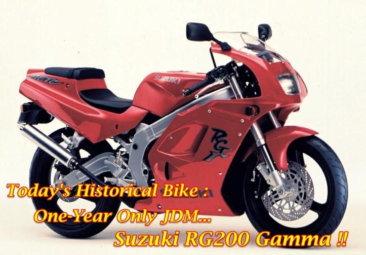 Suzuki RG200 Gamma Main