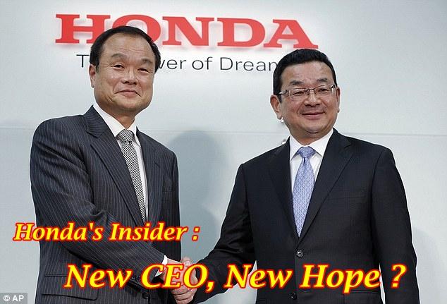Takanobu Ito & Takahiro Hachigo Honda CEO Main