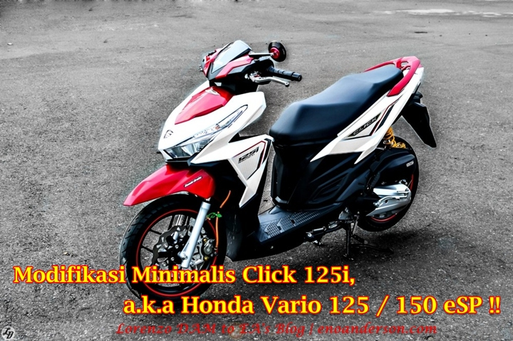 Vario 150 Modifikasi Minimalis Main