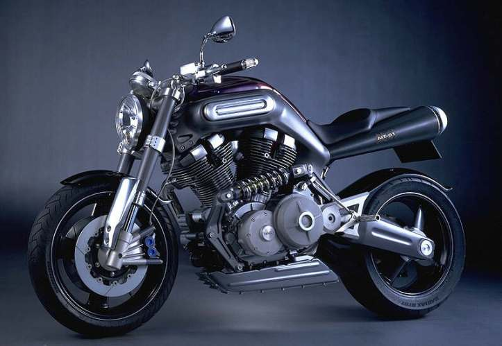 Yamaha MT-01 Concept