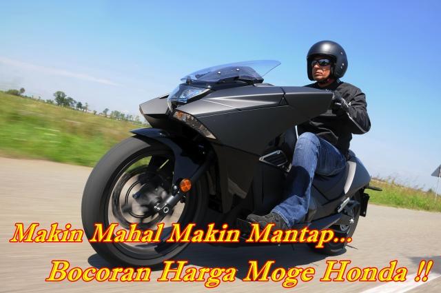 Bocoran Harga Moge Honda