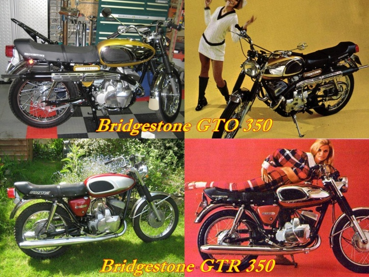 Bridgestone GTO 350 & GTR 350