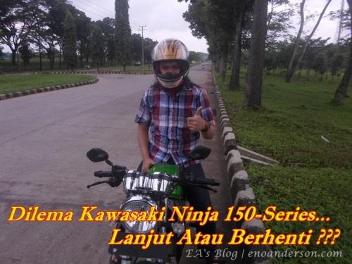 Eno With Ninja 150SS Main