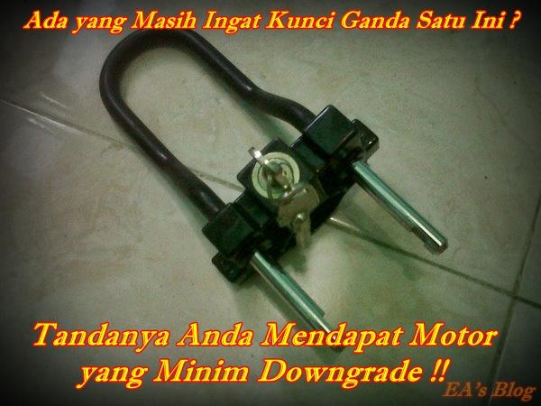 Kunci Ganda di Motor Jadul Main