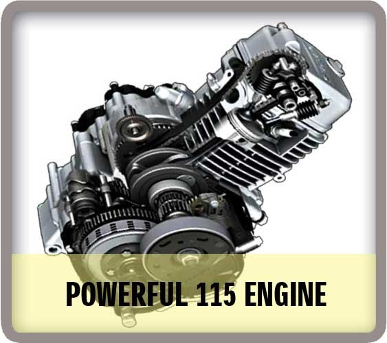 Mesin Suzuki Satria F115 2