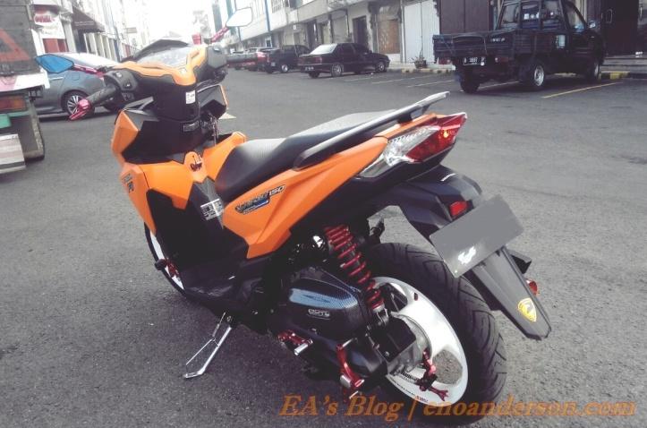 Modifikasi Honda Vario 150 Minimalis 2