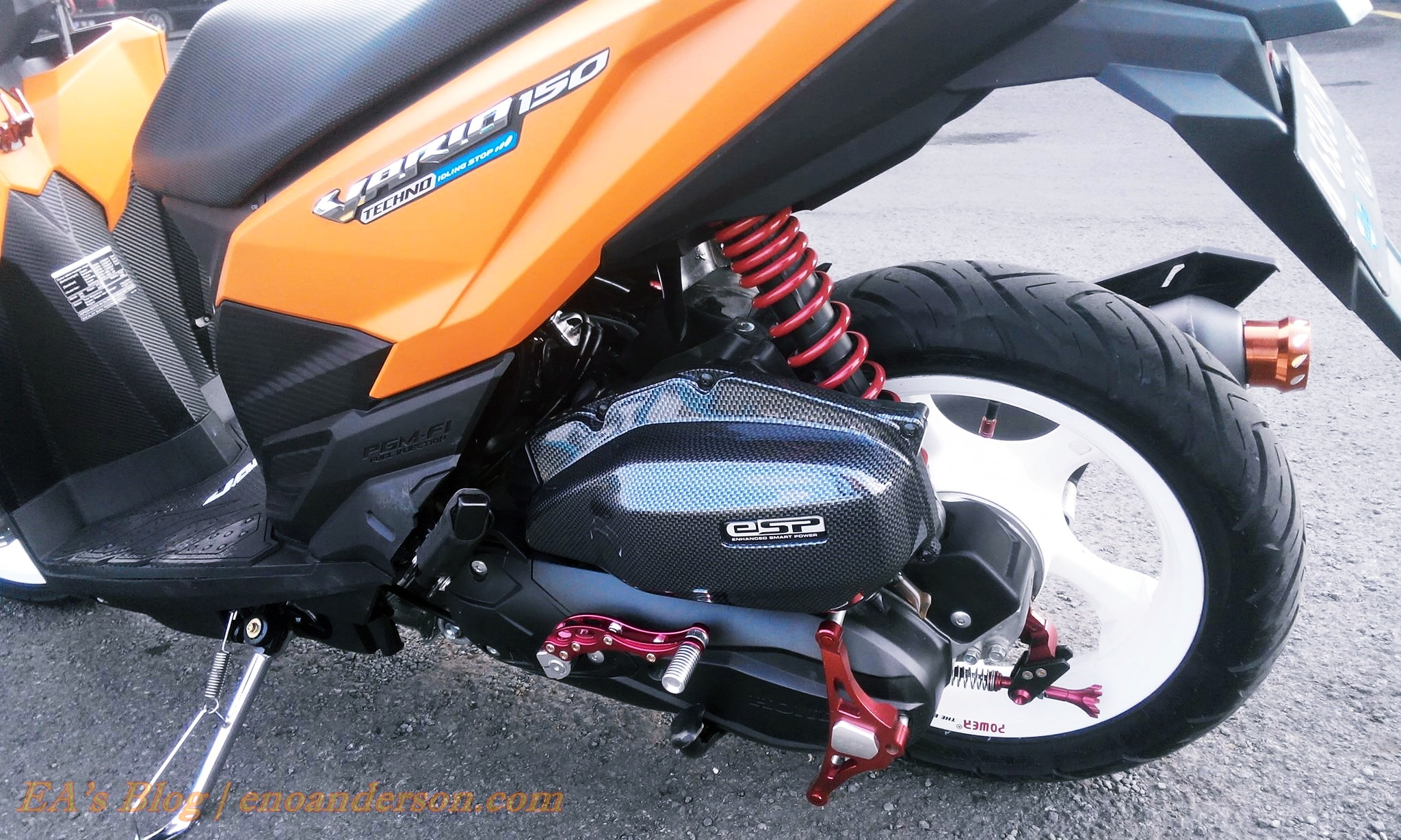 Modif Simple Honda Vario 150 Lampak Modifikasi