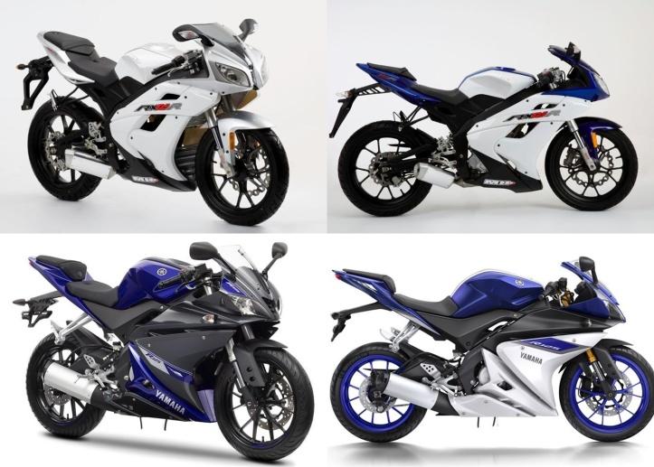 Moto Hispania RX125 - Yamaha YZF R125