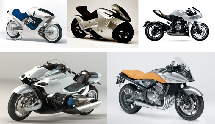 Motor Konsep Terbaik Suzuki 1
